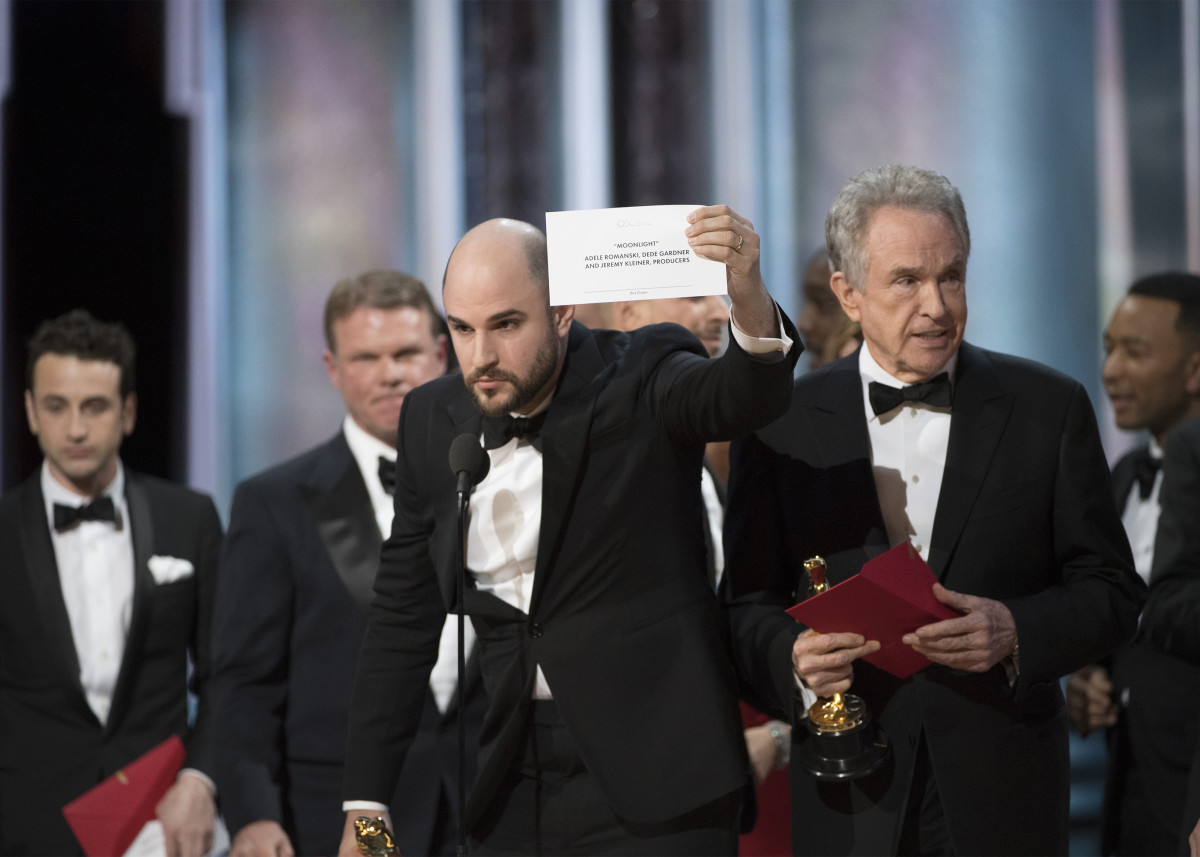 Oscar Best Picture Flub 2017 Photo