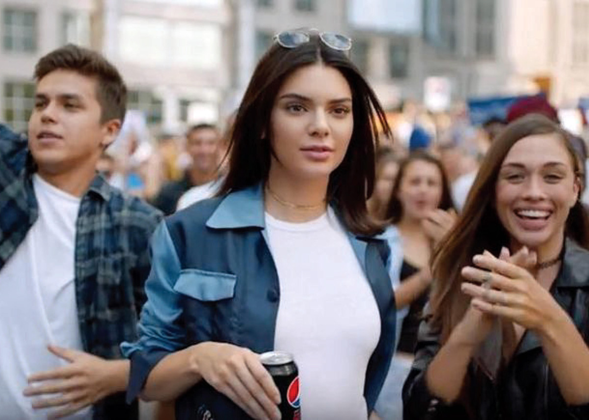 Kendall Jenner Pepsi Ad Photo