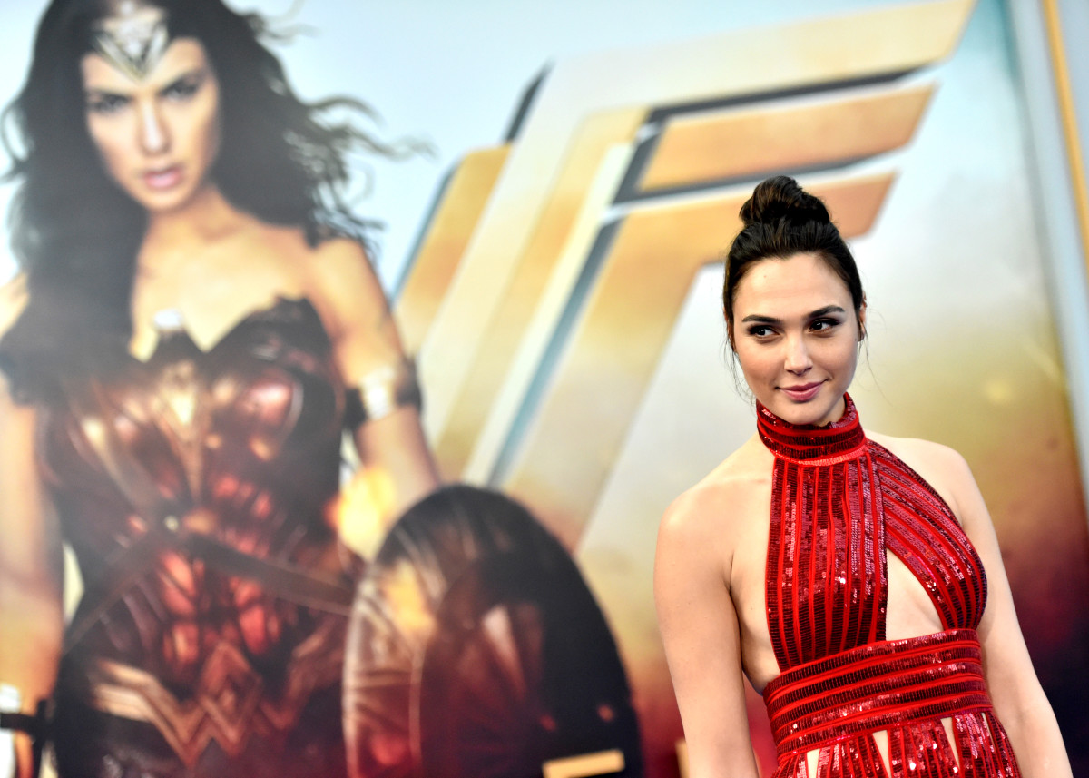 Gal Gadot Wonder Woman Red Carpet Photo
