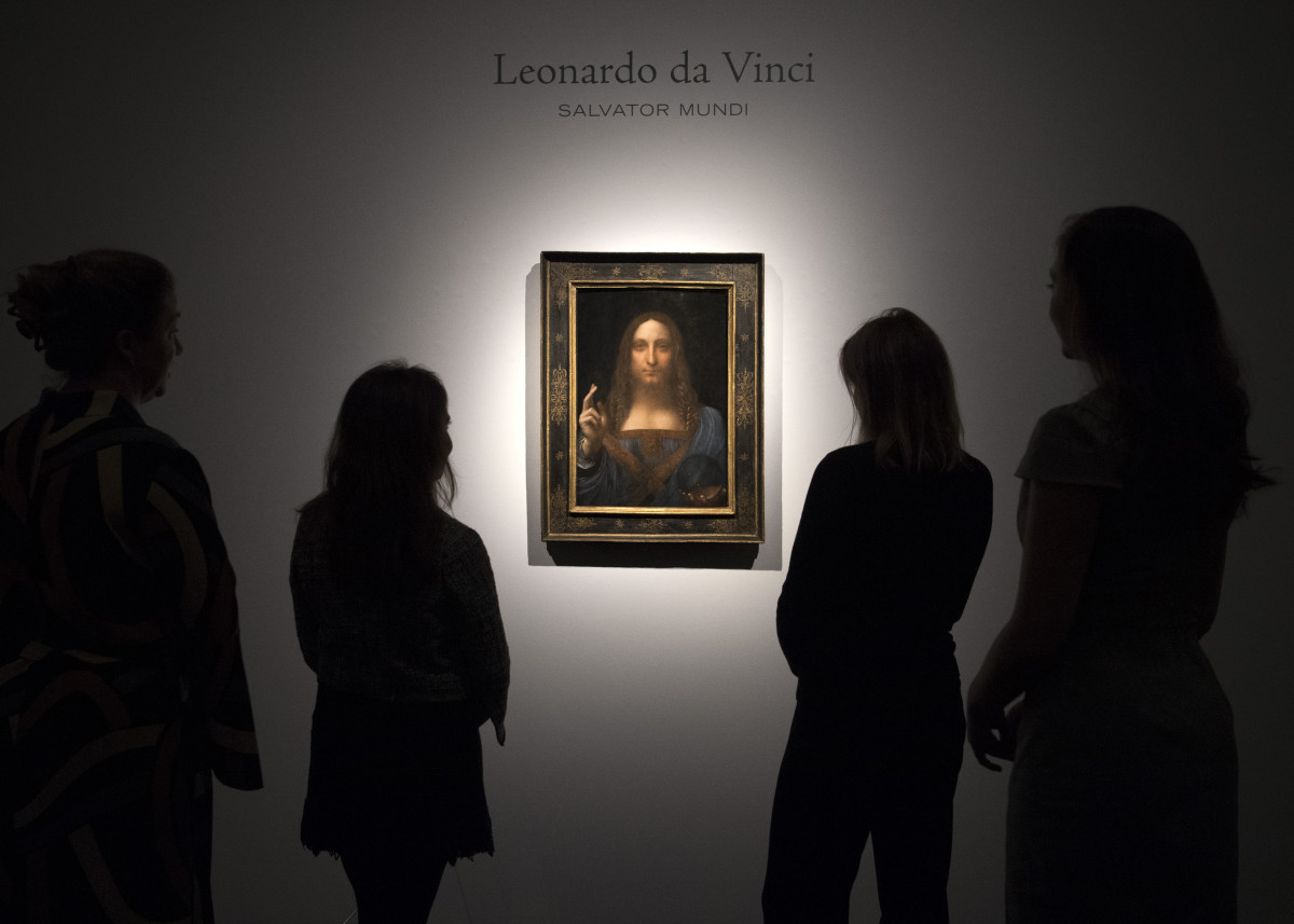 Salvator Mundi Photo