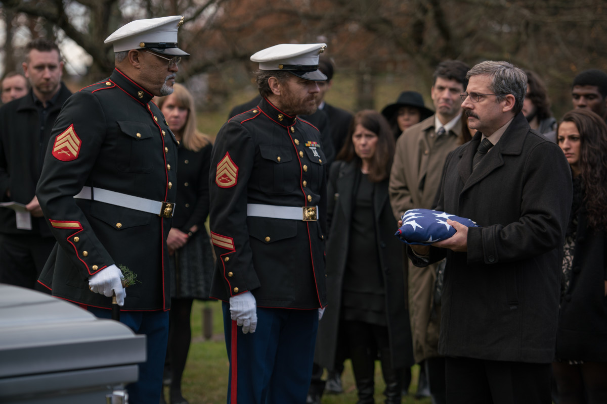 Steve Carrell 'Last Flag Flying' Photo