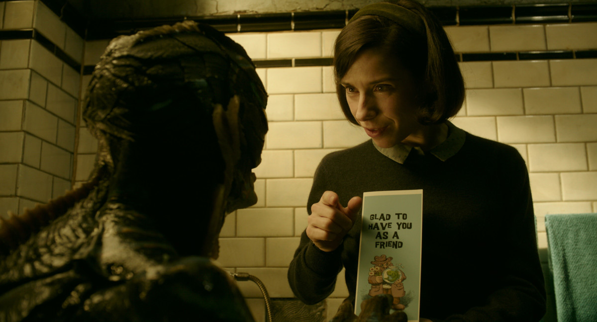 Sally Hawkins 'The Shape of Water' Photo