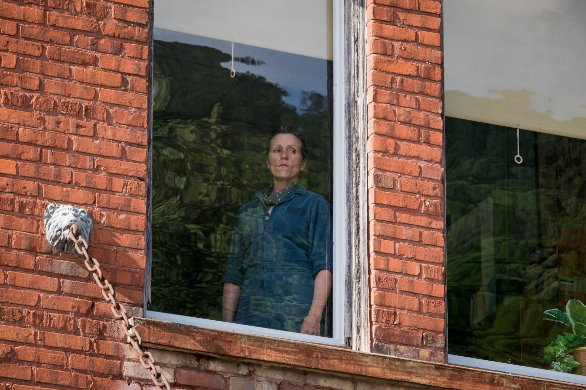 Frances McDormand 'Three Billboards' Photo