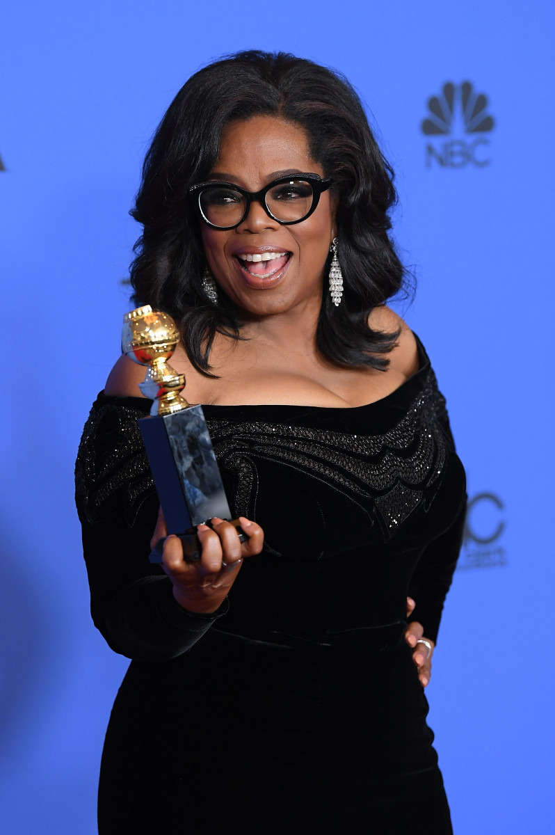 Oprah Winfrey 2018 Golden Globe Photo