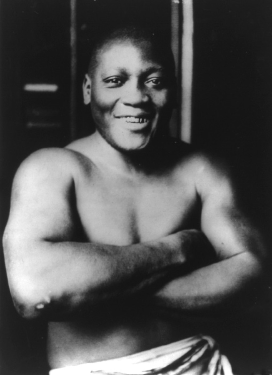 Jack Johnson Boxer Photo