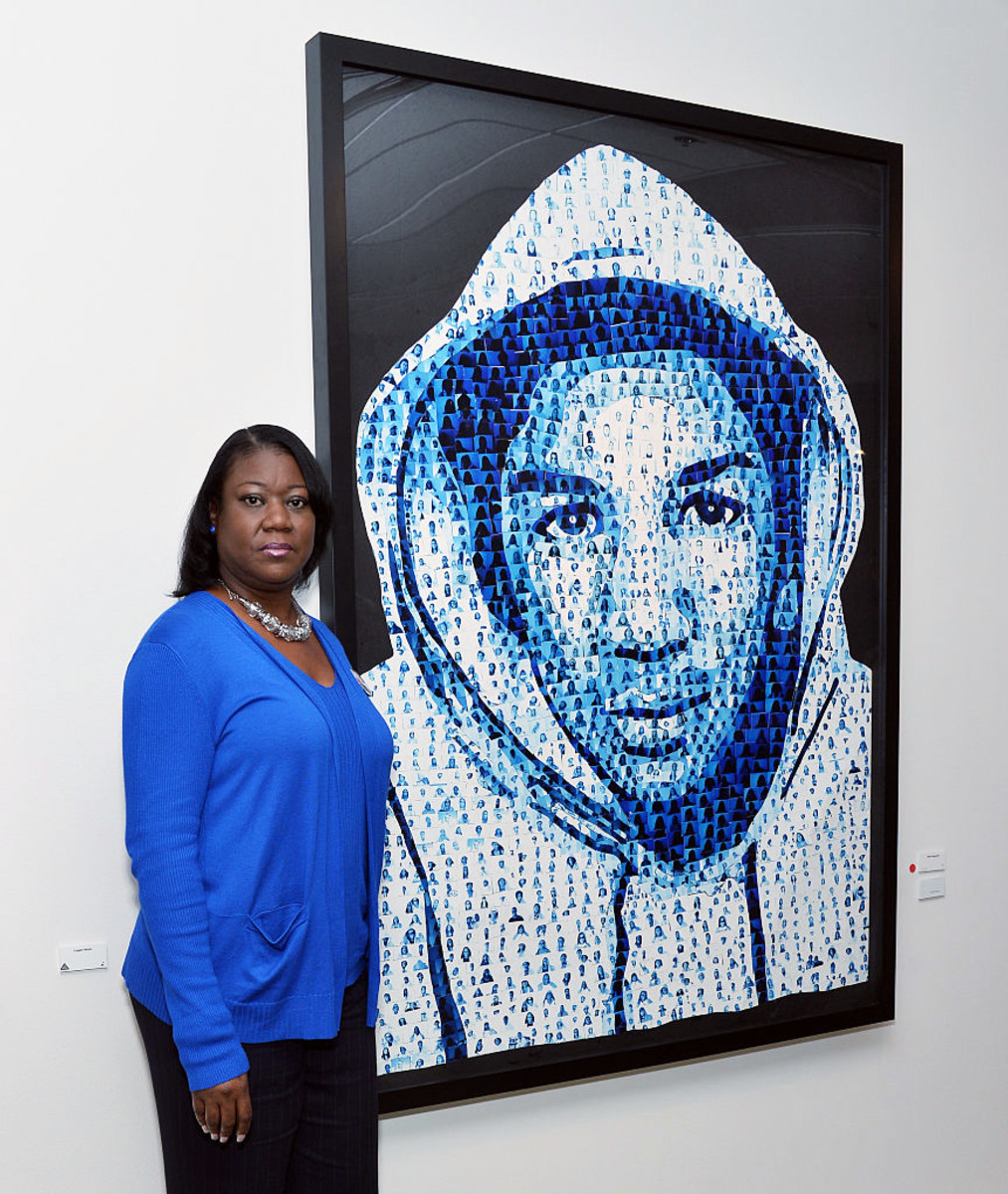 Sybrina Fulton Trayvon Martin Photo
