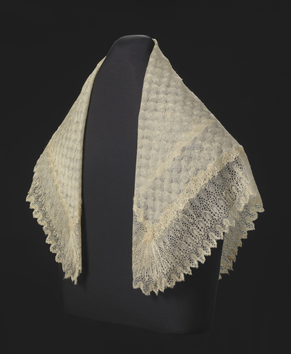 Harriet Tubman Lace Shawl Queen Victoria Photo