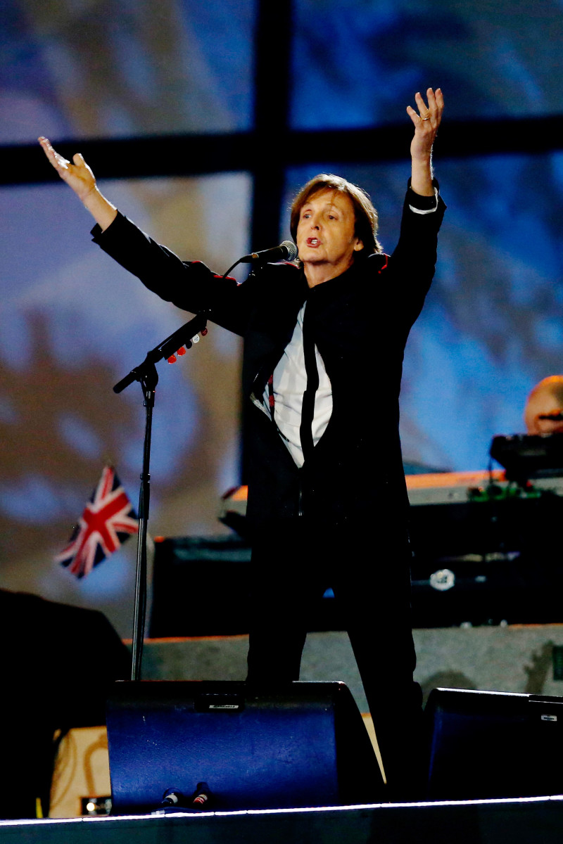 Paul McCartney London Olympics Photo