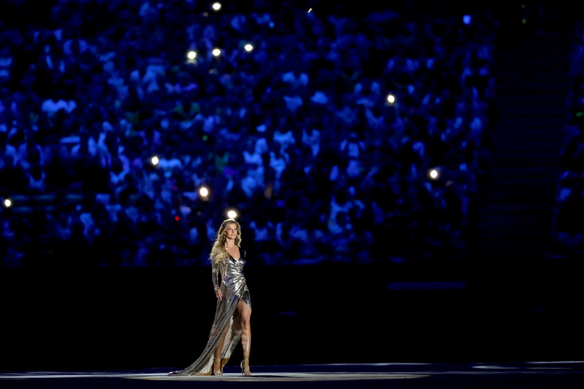 Gisele Bundchen Rio 2016 Olympic Games Photo