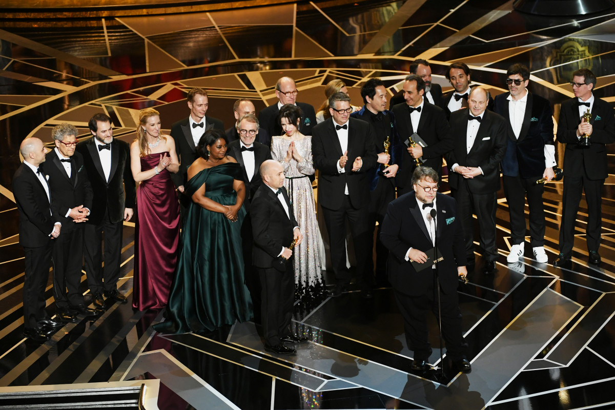 Image result for best picture oscars 2018 winner