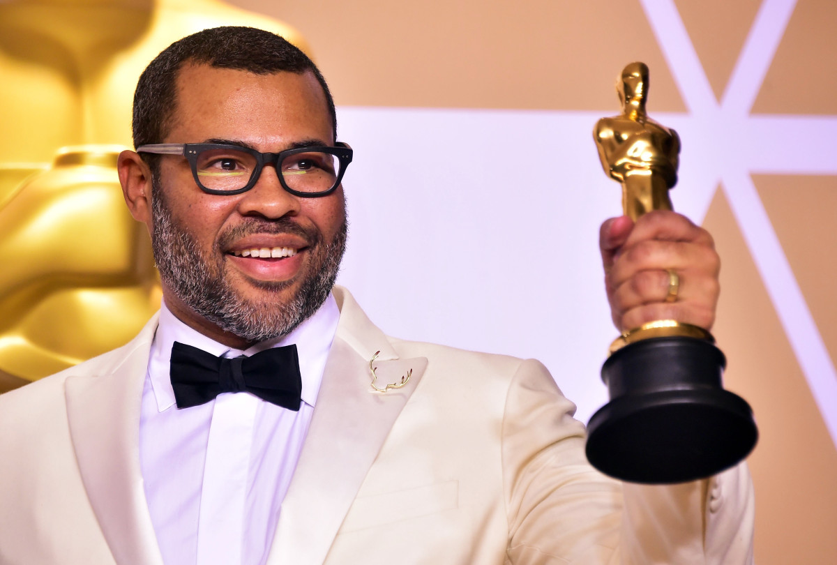 Jordan Peele Oscars 2018 Photo