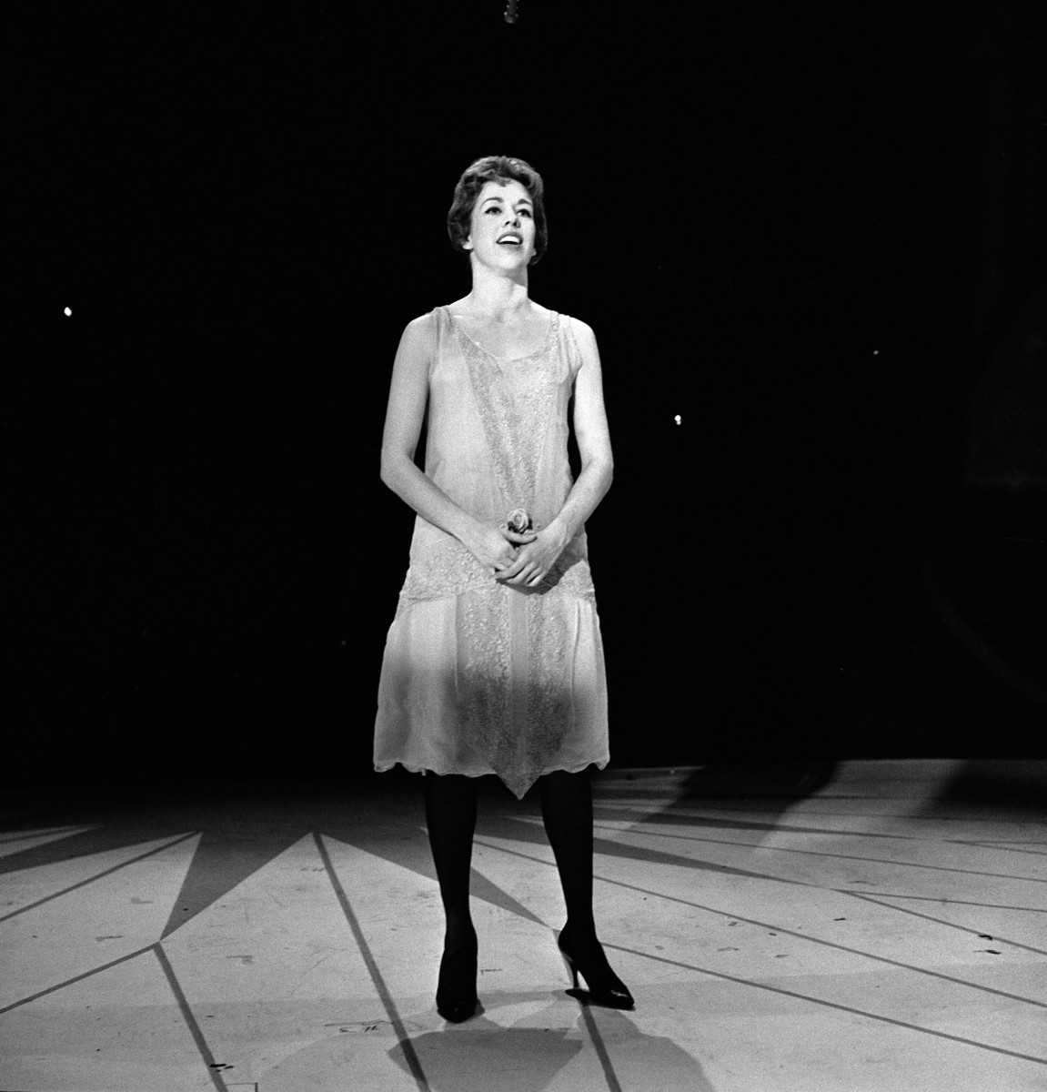 Carol Burnett performs on an episode of 'The Garry Moore Show,' New York, New York, October 30, 1959