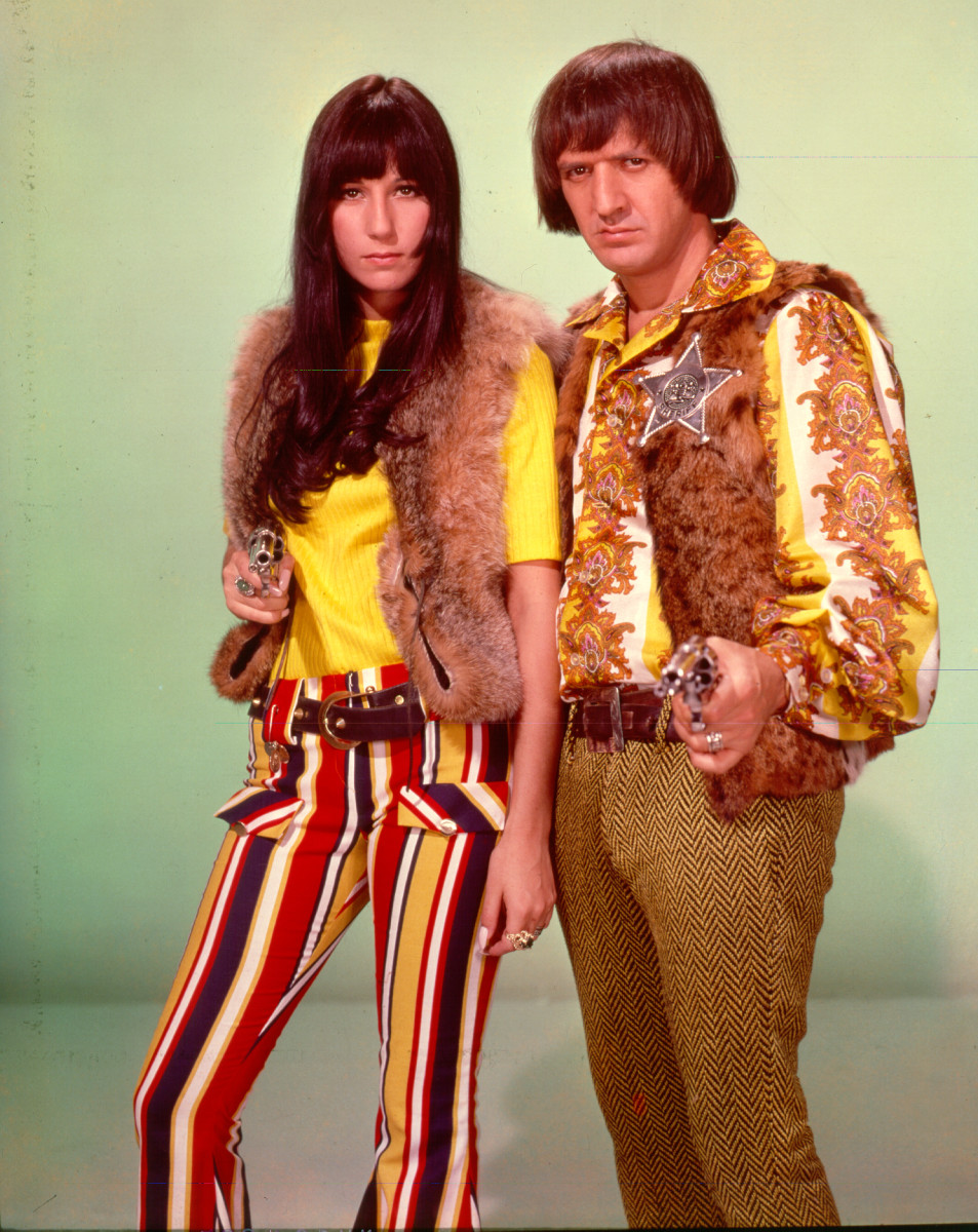 Cher and Sonny Bono, circa 1968