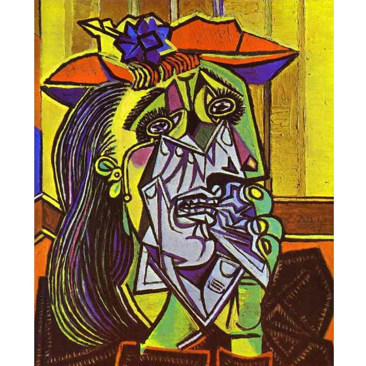 Pablo Picasso's The Weeping Woman