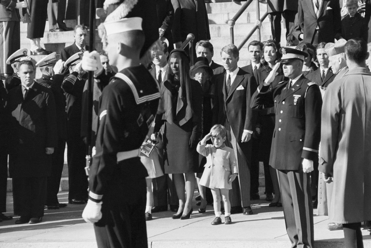 The pageantry of John F. Kennedy's funeral procession loomed large in the nation's memory—and that is the way Jackie wanted it.