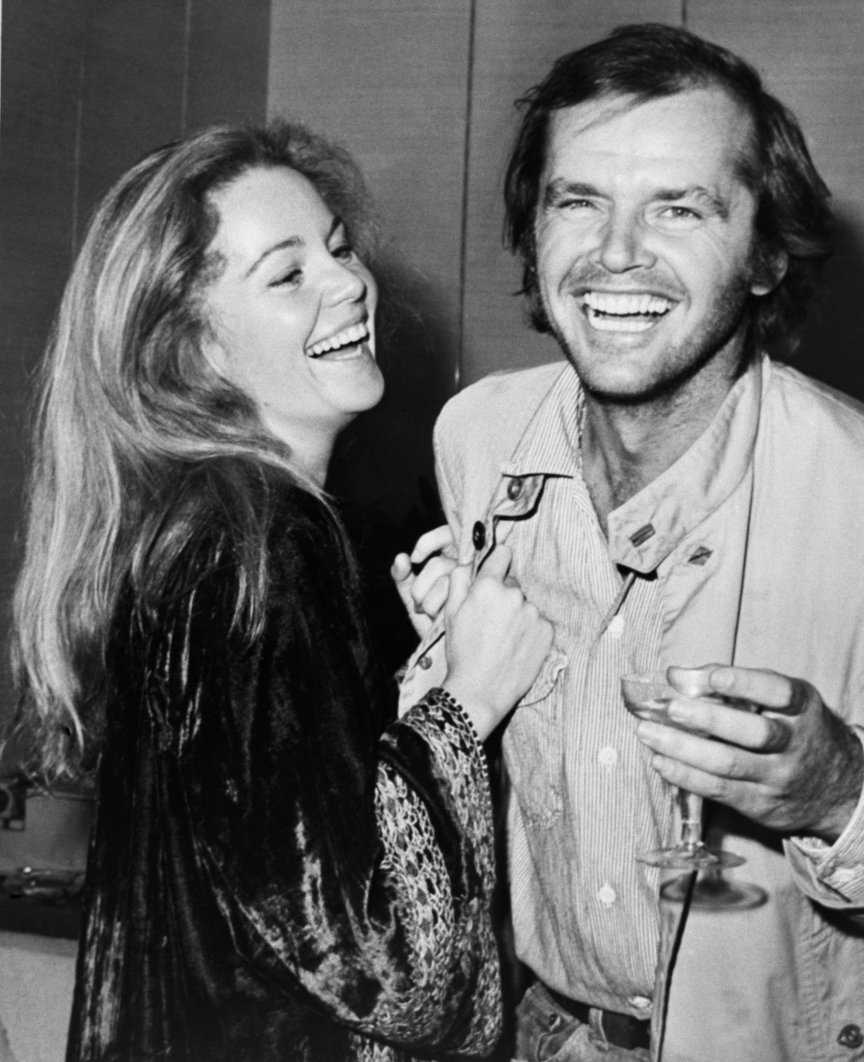 Tuesday Weld and Jack Nicholson at a reception in New York City in October 1971