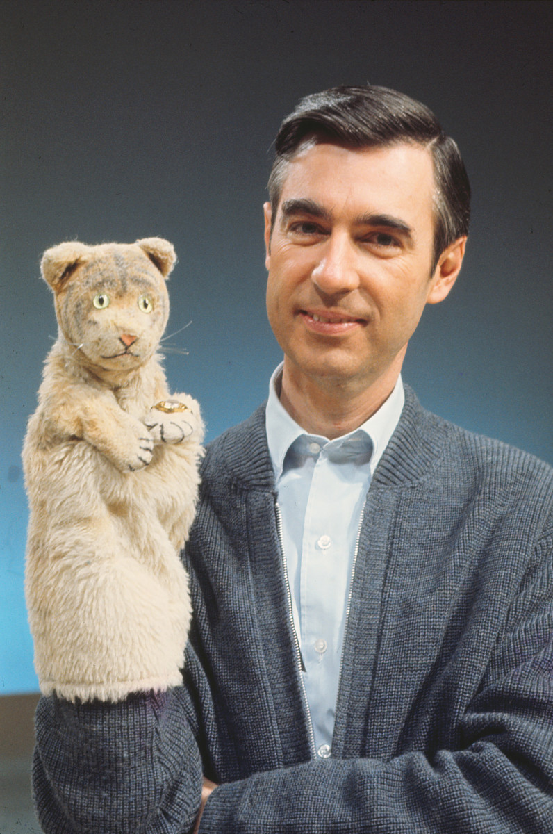 Mister Rogers and Daniel Tiger