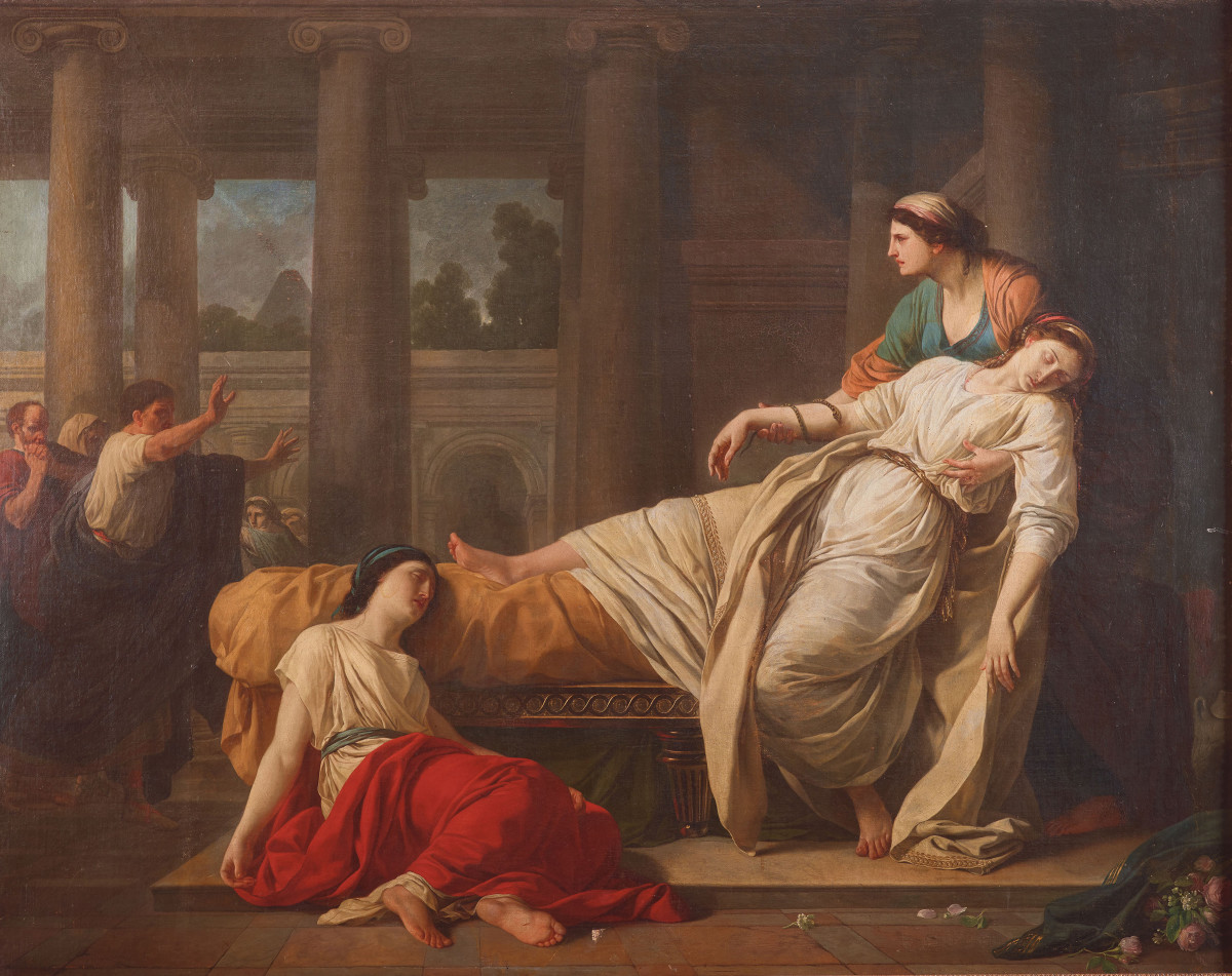 The Death of Cleopatra, 1785