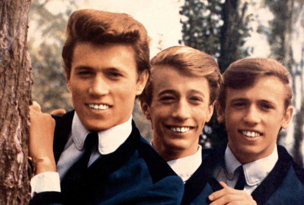 The Bee Gees in 1964