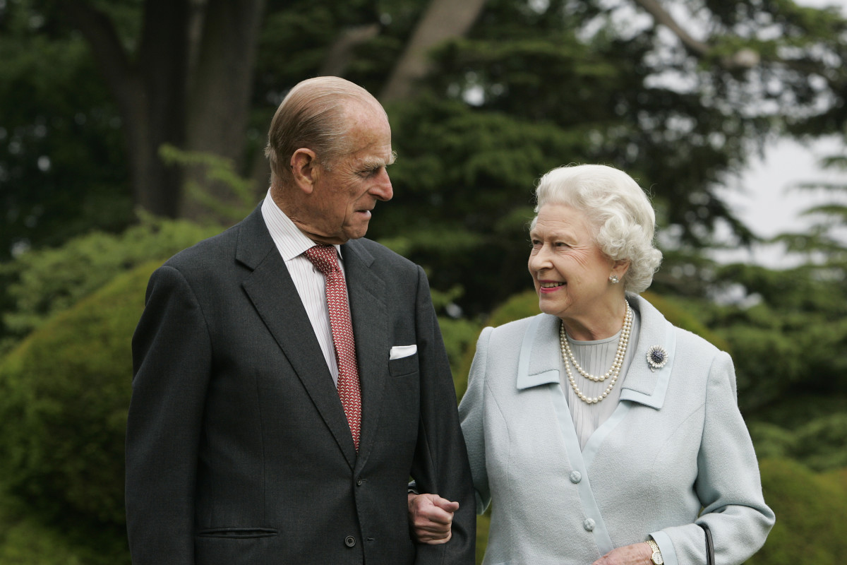 Queen Elizabeth II and Prince Philip re-visit Broadlands to mark their Diamond Wedding Anniversary