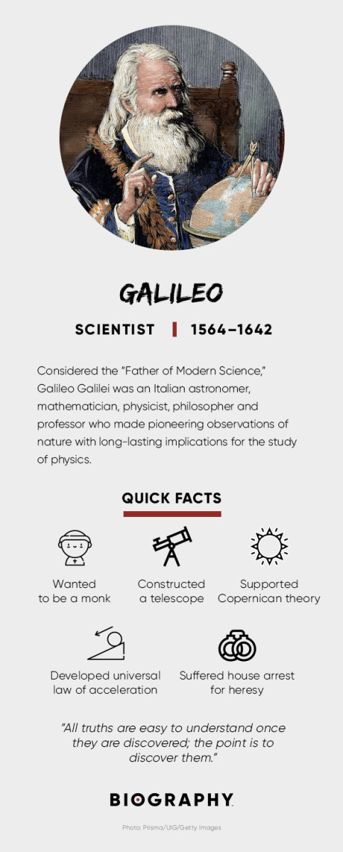 Galileo Telescope Quotes Discoveries Biography