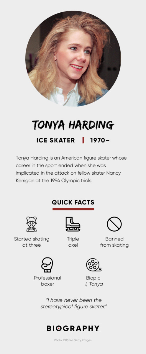Tonya Harding Fact Card