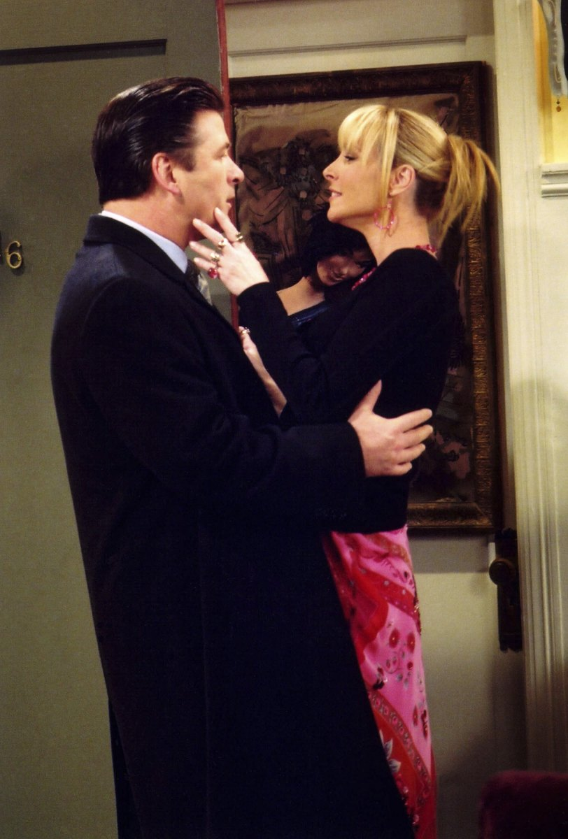 Alec Baldwin as Parker, Lisa Kudrow as Phoebe Buffay