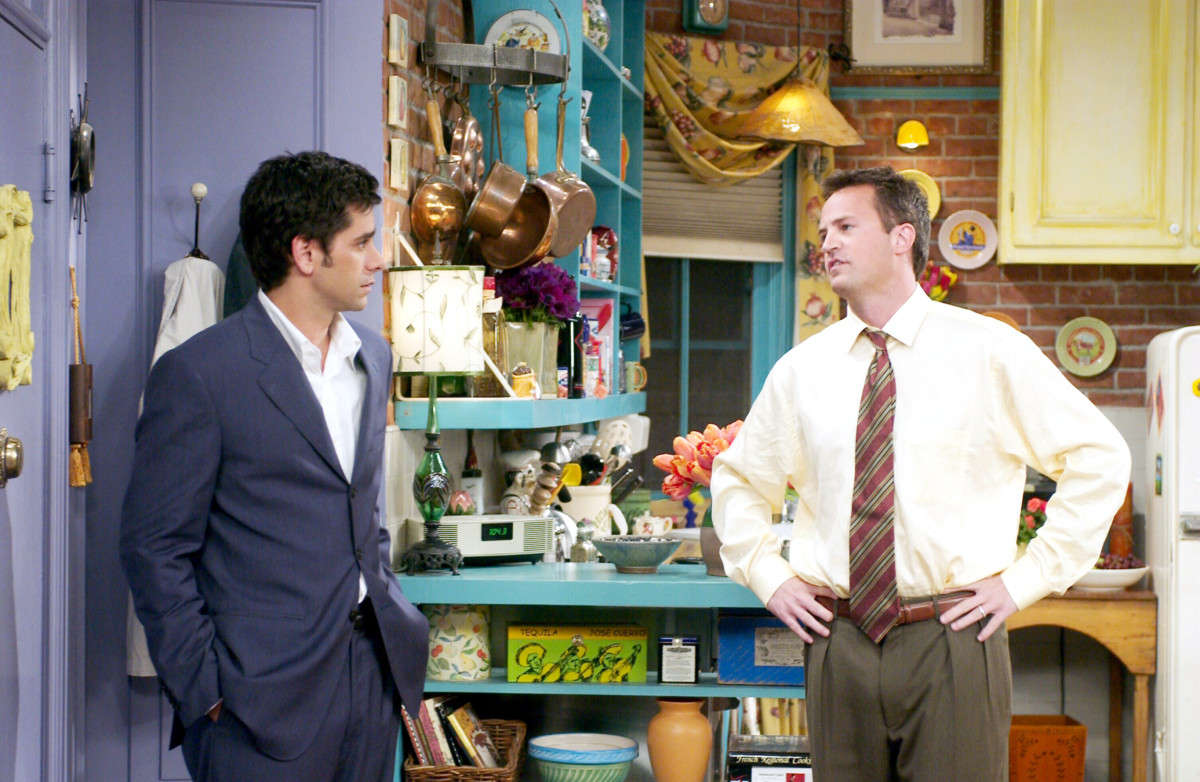 John Stamos as Zack, Matthew Perry as Chandler Bing