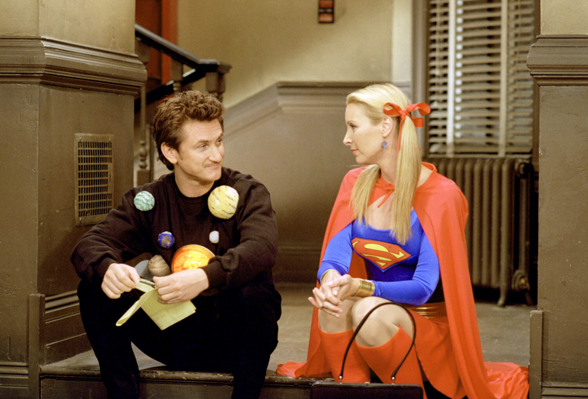 Sean Penn as Eric, Lisa Kudrow as Phoebe Buffay