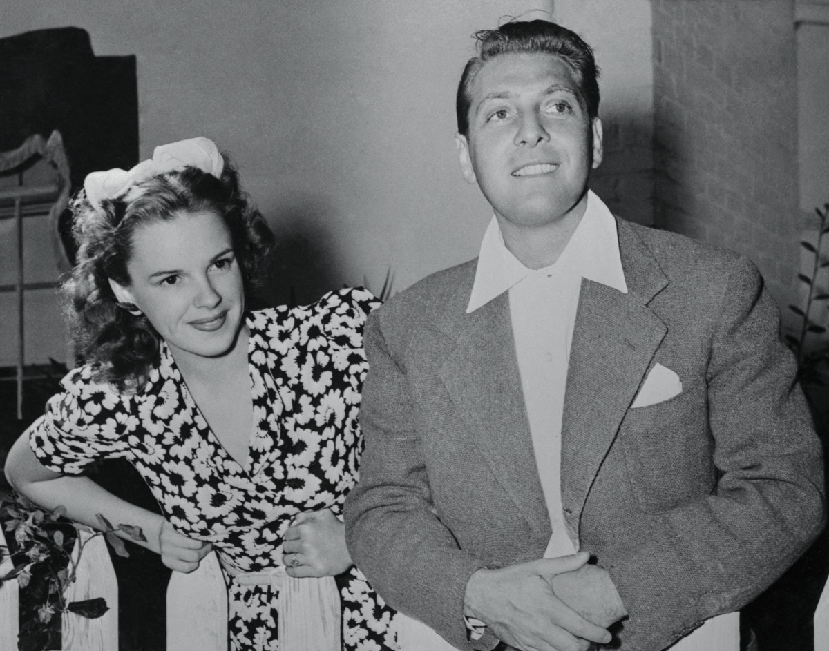 Judy Garland with David Rose