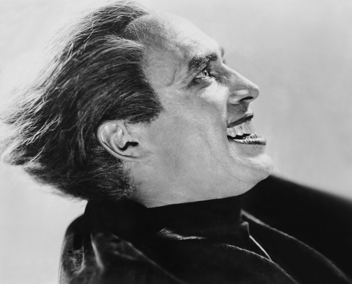 Conrad Veidt in 'The Man Who Laughs'