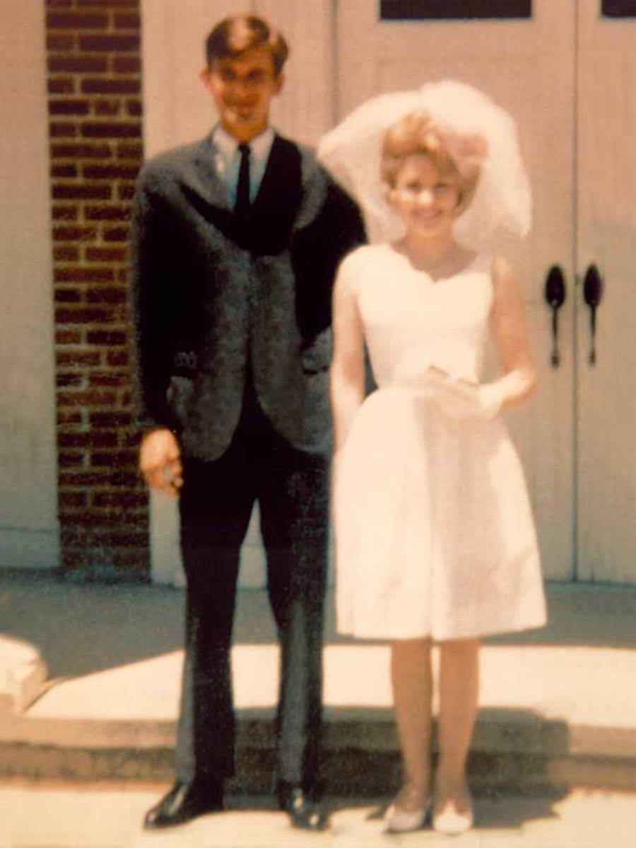 Carl Dean and Dolly Parton wedding