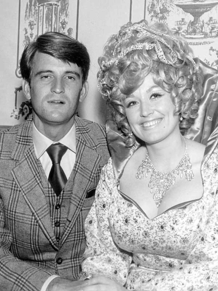 Carl Dean and Dolly Parton