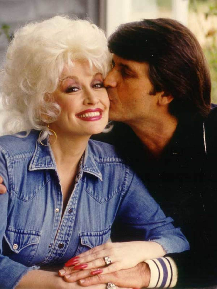 Dolly Parton and Carl Dean