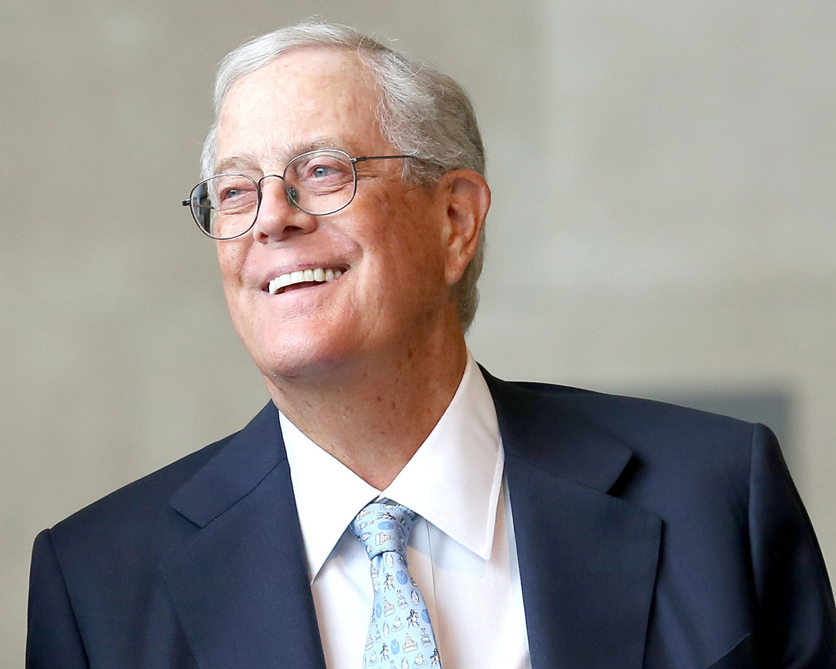David Koch, People We Lost in 2019