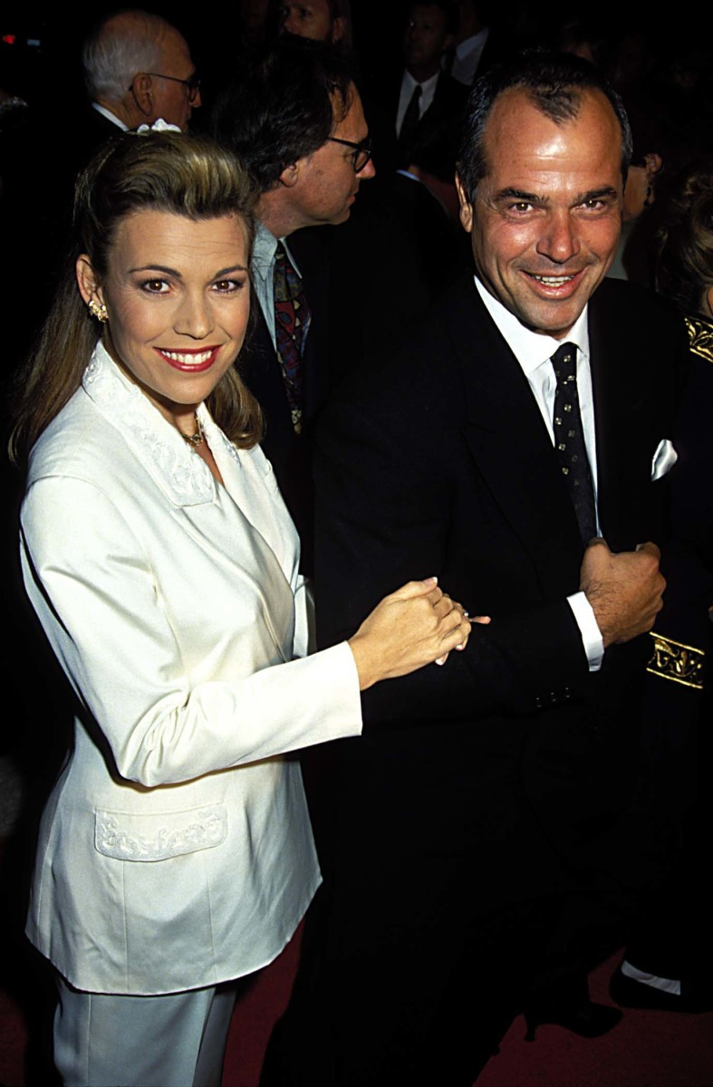 Vanna White and George Santo Pietro