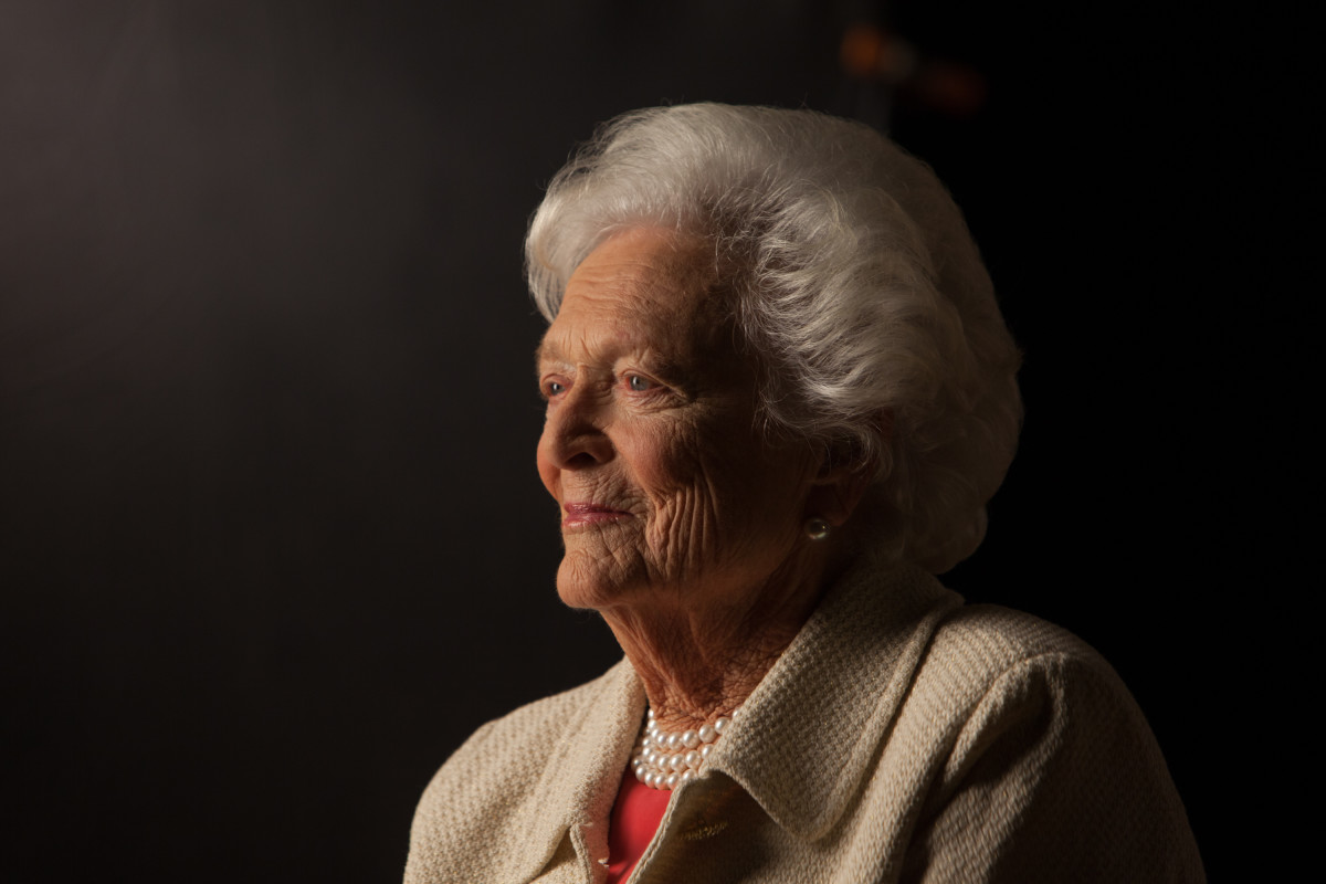 Barbara Bush in October 2011
