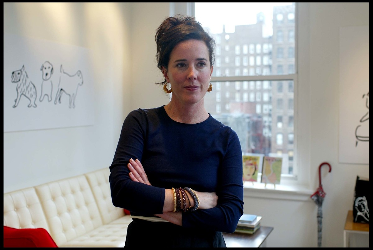 Kate Spade in her office