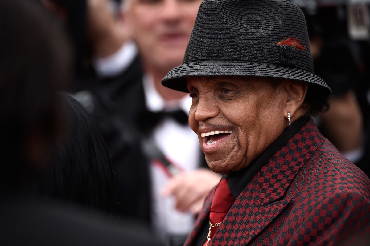 Joe Jackson at the Cannes Film Festival on May 19, 2015 in Cannes, France