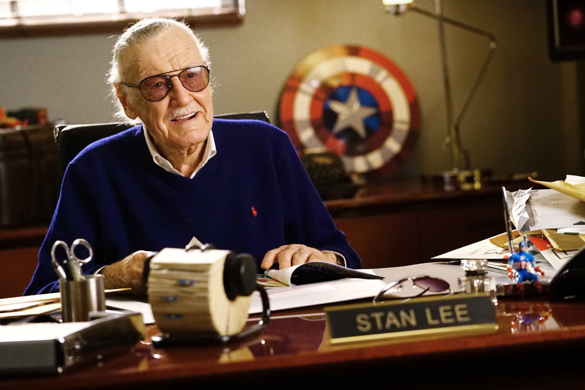 Stan Lee in 2017
