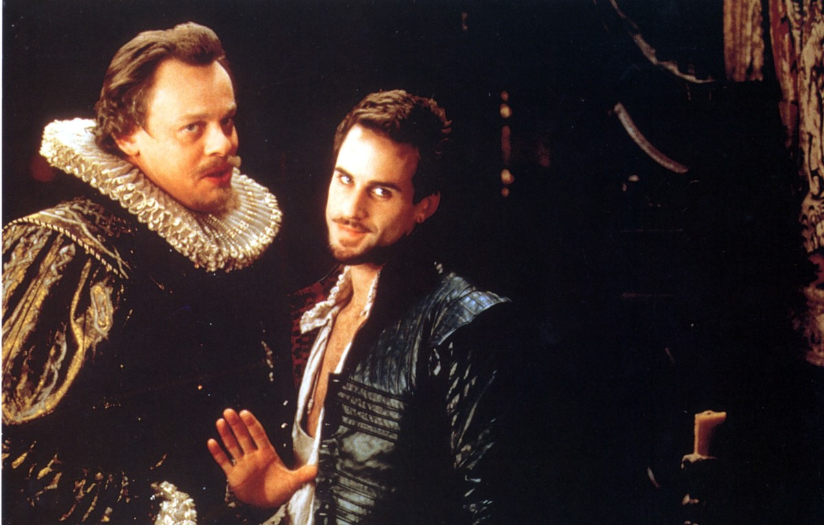 Martin Clunes and Joseph Fiennes in Shakespeare in Love
