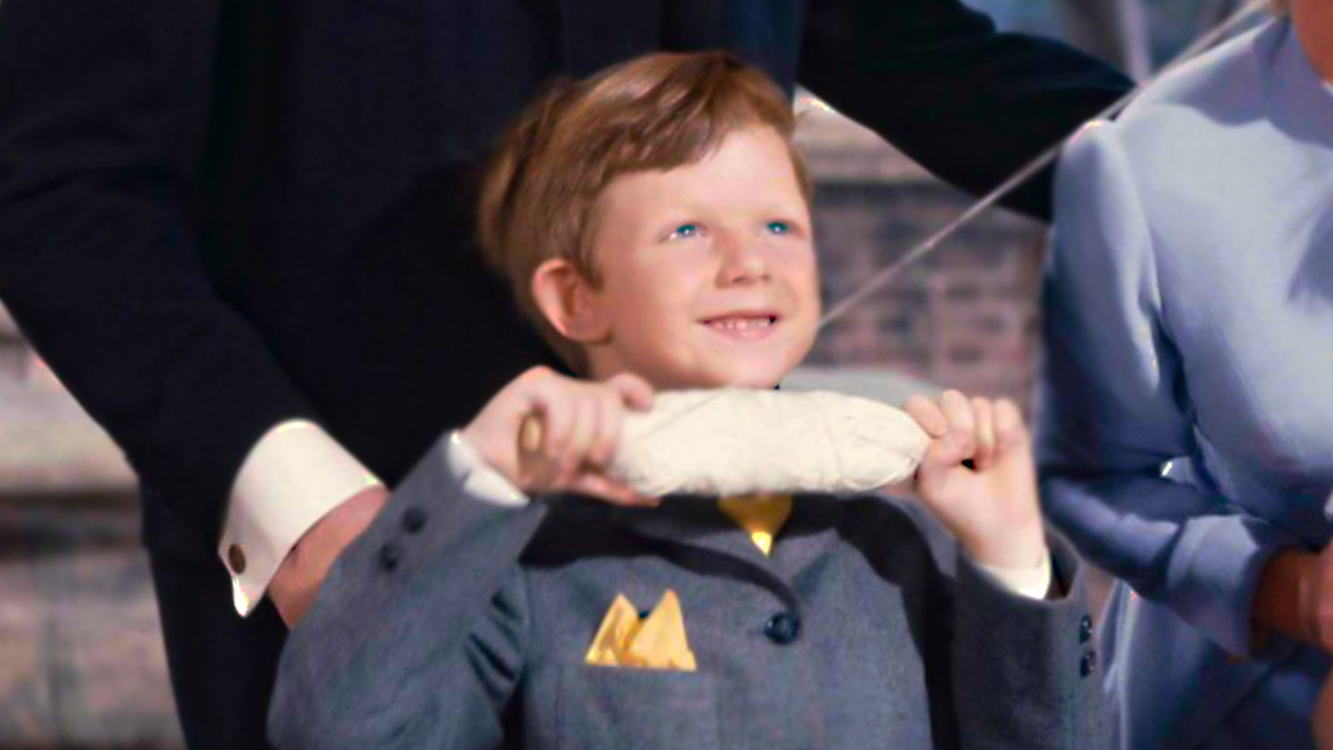 Matthew Garber as Michael Banks in Mary Poppins