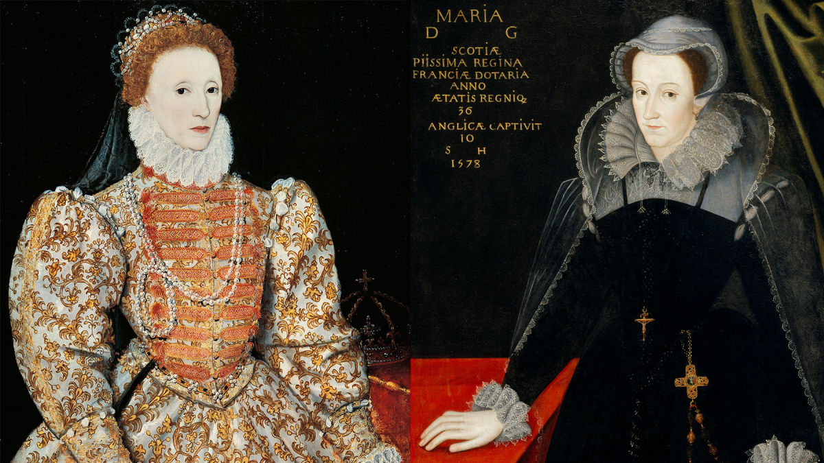Queen Elizabeth & Mary Queen of Scots