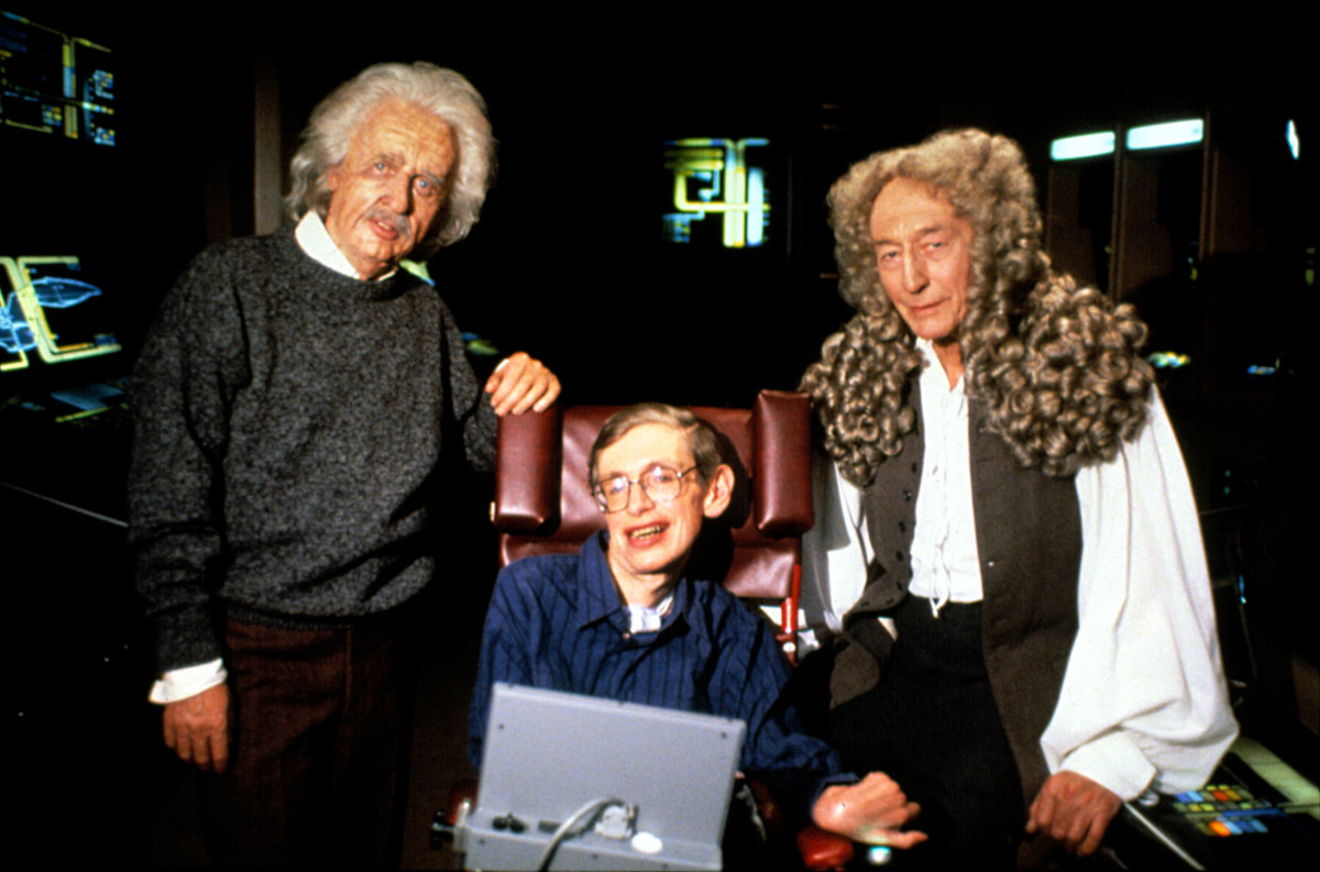 Stephen Hawking in Star Trek: The Next Generation