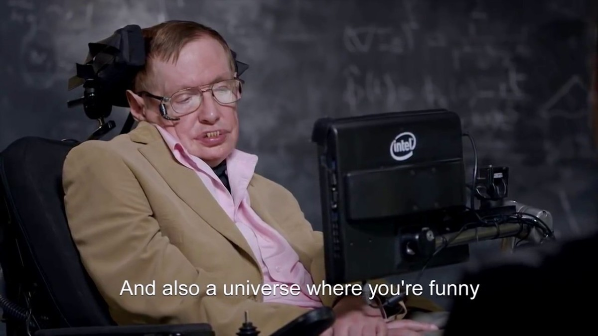Stephen Hawking on Last Week Tonight With John Oliver