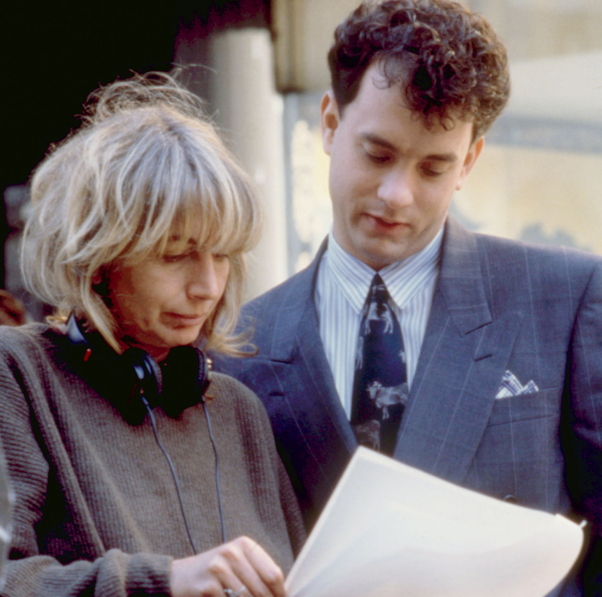 Penny Marshall directing Tom Hanks in Big