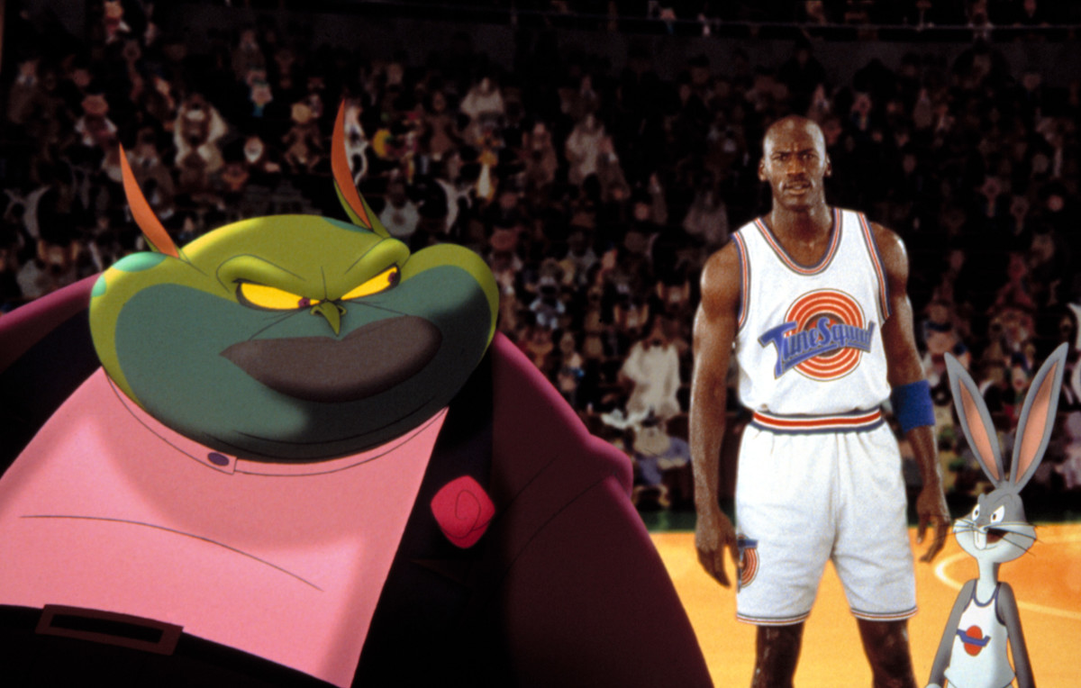 Michael Jordan in Space Jam
