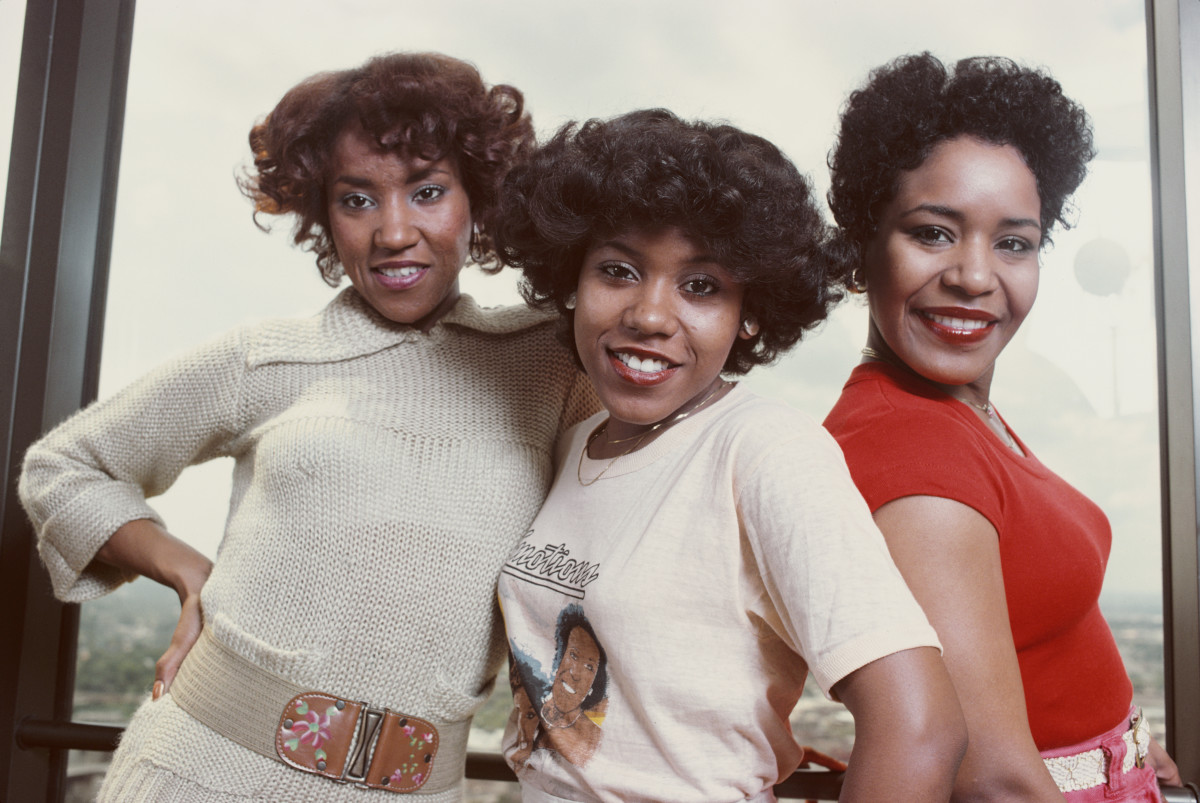 The Emotions (L-R Wanda Hutchinson, Pamela Hutchinson, and Sheila Hutchinson)