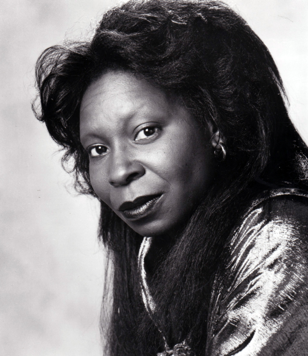 Whoopi Goldberg as Oda Mae Brown in the suspense thriller 'Ghost'