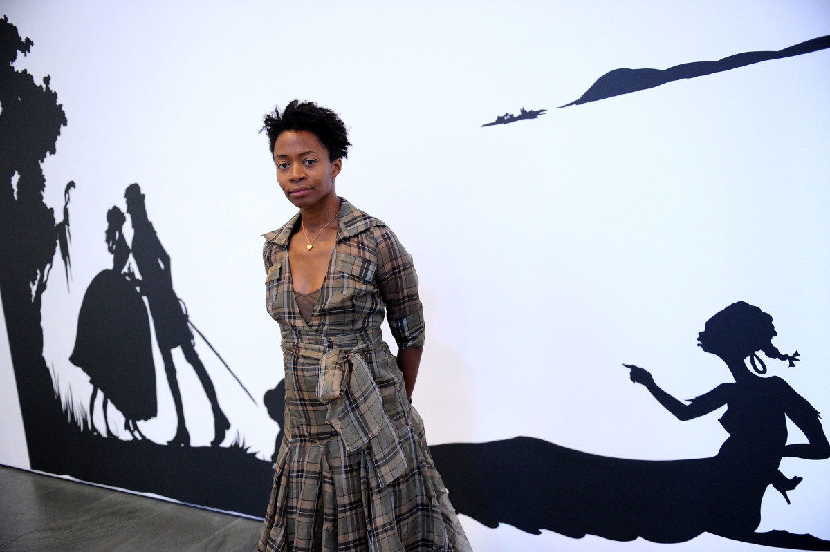 Kara Walker attends the opening reception for the reinstallation of contemporary art from the collection at MOMA on June 29, 2010 in New York, City